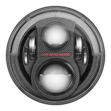 "JW Speaker 8700 Evolution J2 Series Dual Burn 7"" LED Headlights (Carbon Fiber Bezels) - 0553973"
