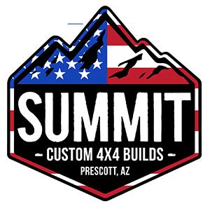 Summit 4X4 Company American Flag Logo