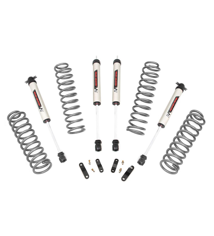 Rough Country 2.5 Lift Kit compatible w/ 2018-2019 Jeep