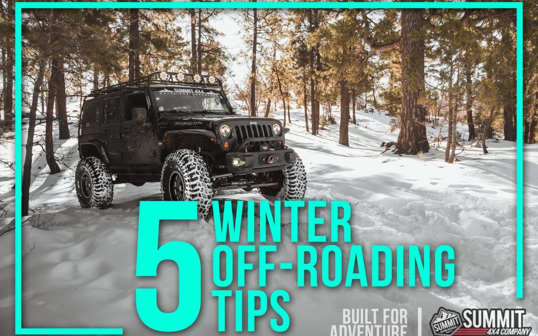 5 Winter Off-Roading Tips